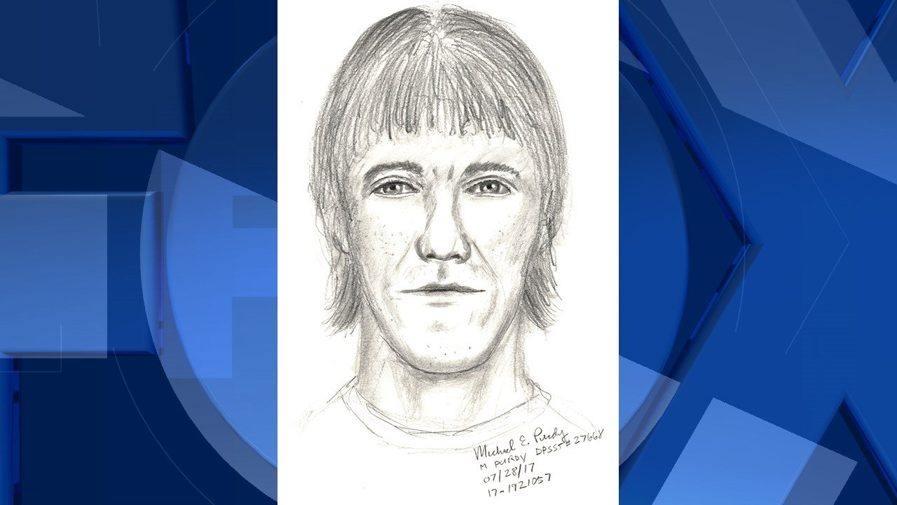 Sketch of suspect, courtesy Beaverton Police