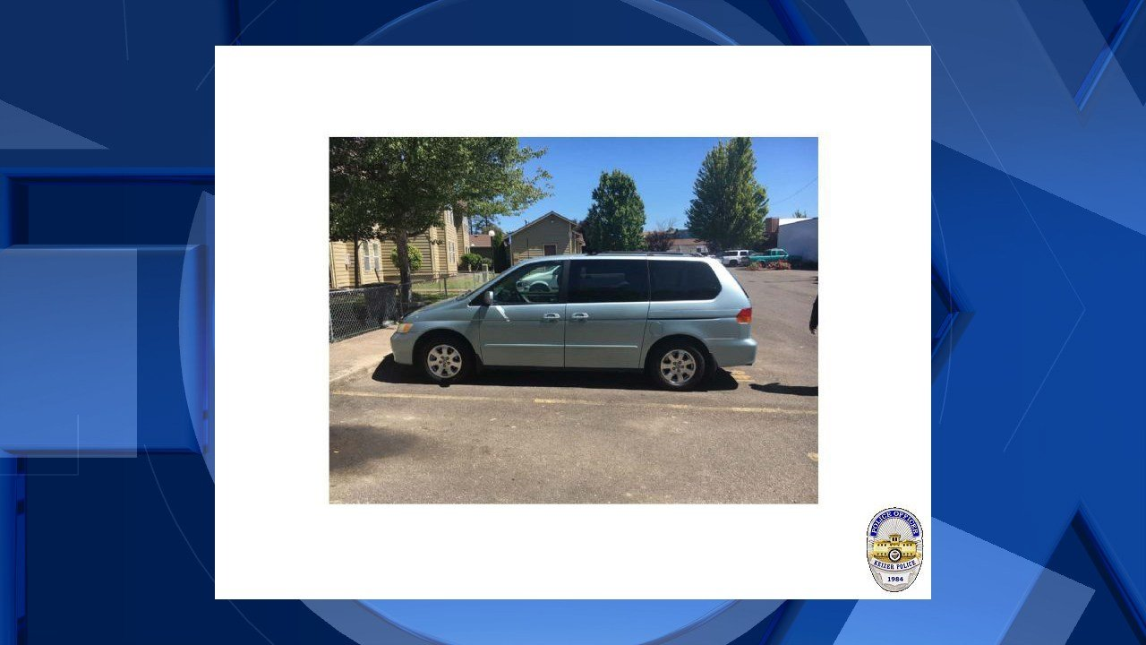 Van involved in disappearance of Cynthia Crystal Martinez (Keizer Police Department)