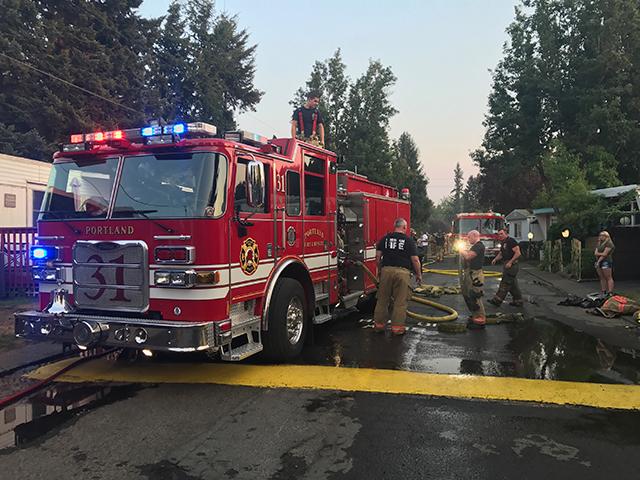 (Photo: Portland Fire & Rescue)