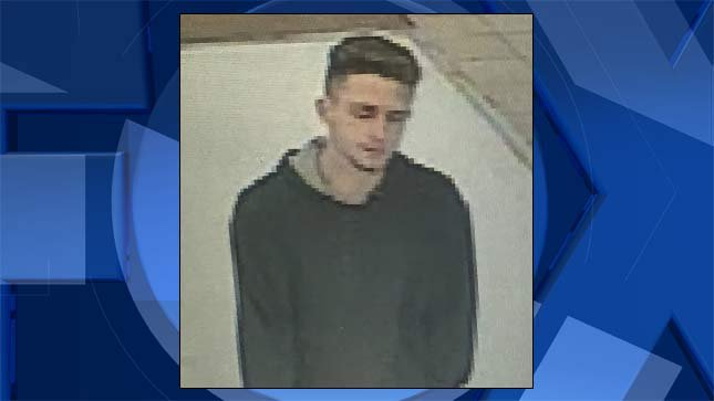 Surveillance image released by Vancouver Police Department.