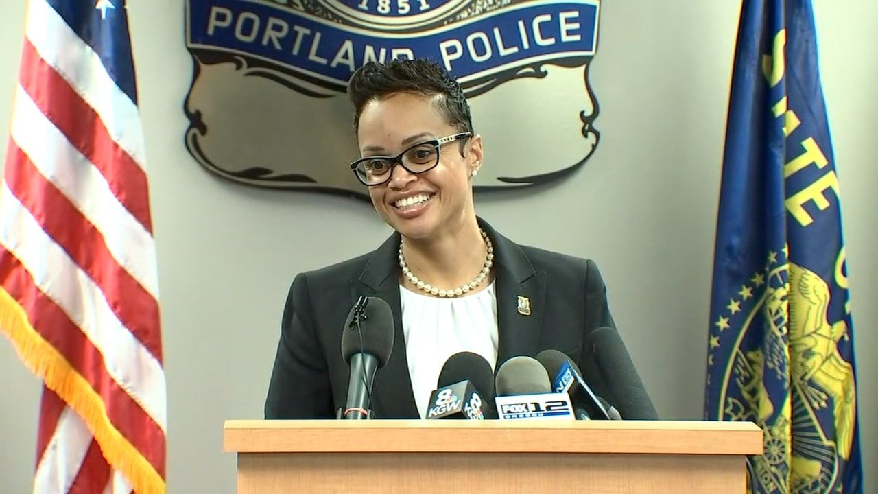 New Portland Police Chief Danielle Outlaw. (KPTV)