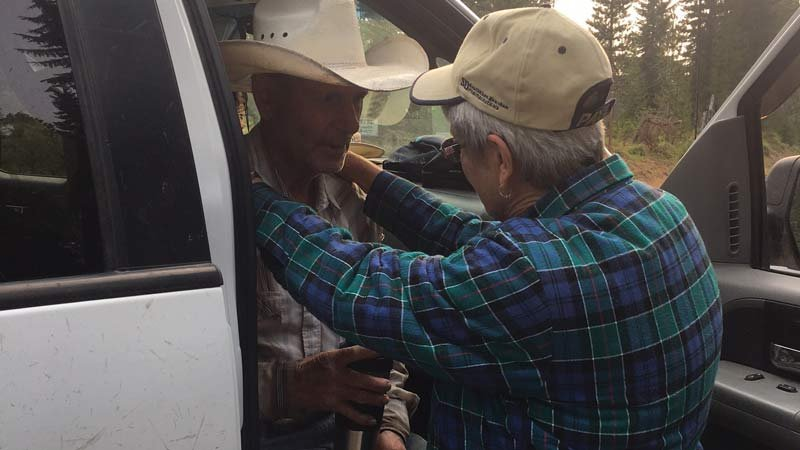 Jerry Thomas was found safe near Daly Lake on Saturday morning. (Photo: Linn County Sheriff's Office)
