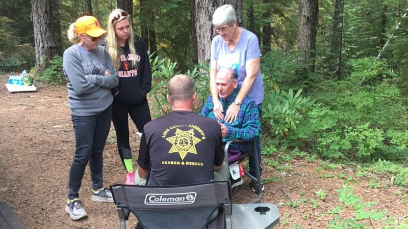 Jerry Thomas was reported missing after going to pick huckleberries near Parish Lake on Wednesday. He was found Saturday morning. (Photo: Linn County Sheriff's Office)