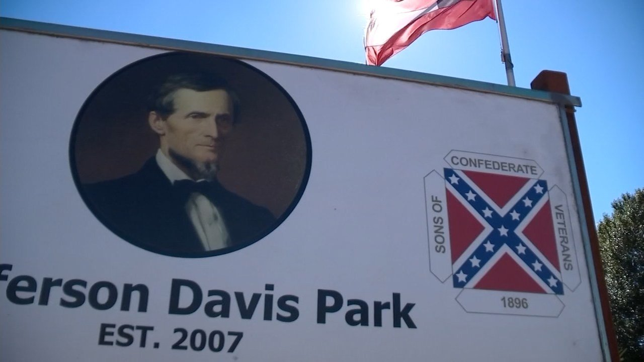 Jefferson Davis Park in Ridgefield (KPTV)