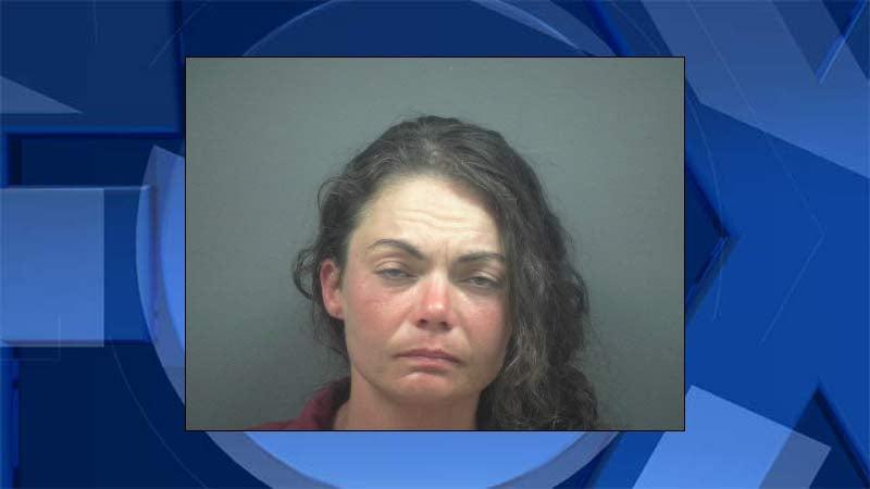 Amber Marie Hicks, jail booking photo