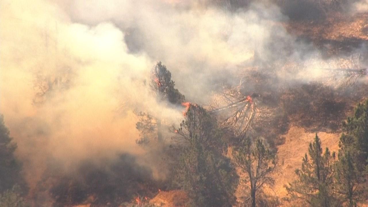 Nena Springs Fire (KPTV/Air 12)