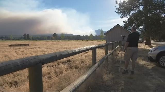 Level 3 evacuation orders issued for Milli Fire near Sisters