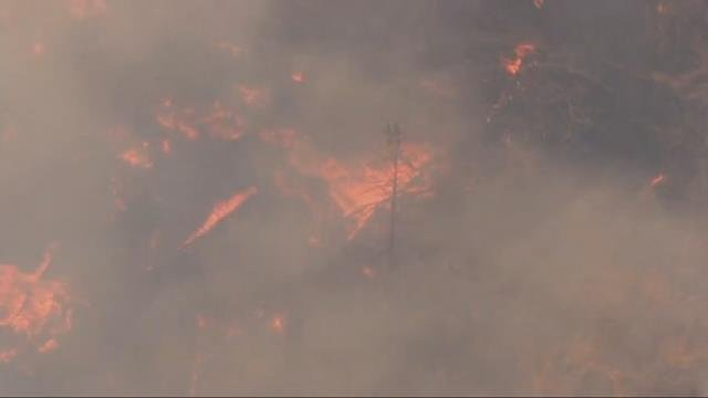 Ember causes Nena Springs Fire to grow; shelter-in-place order at Kah-Nee-Ta