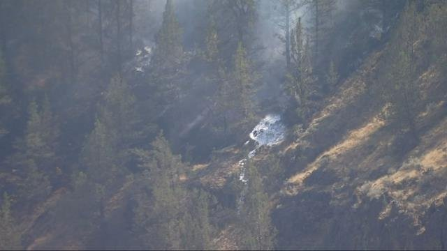 Two dead after small plane crashes in Willow Creek Canyon