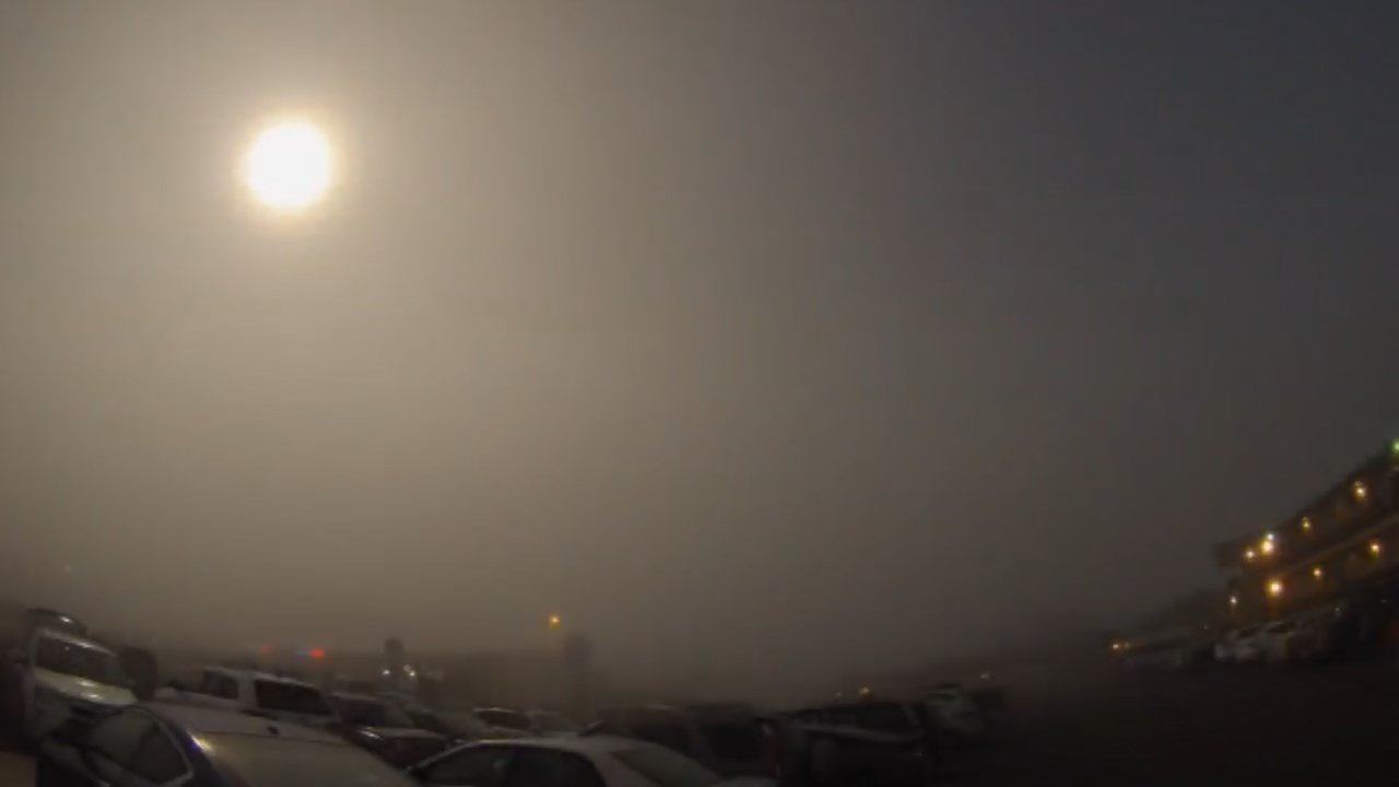 Solar eclipse in Lincoln City (KPTV)