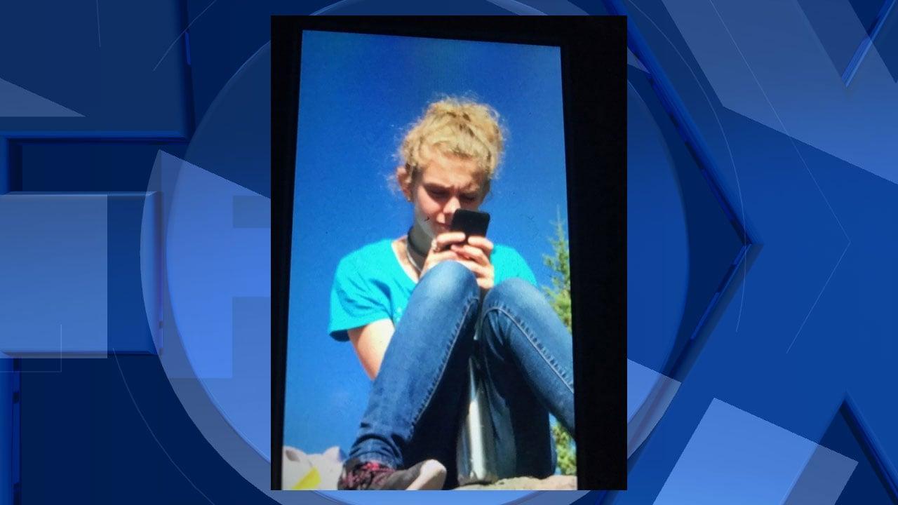 Missing 15-year-old hiker Katrina Osborne (courtesy family/Skamania Co. Sheriff's Office)