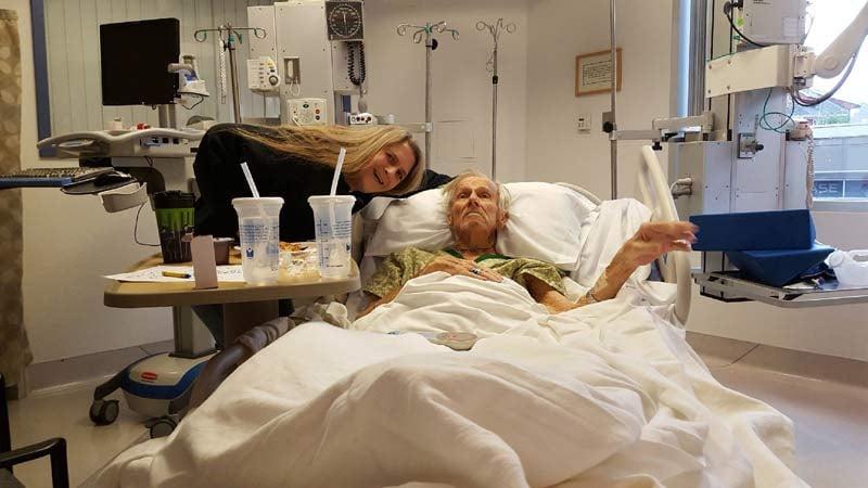 Kimberly Grecco with her father Ronald Roark (Photo courtesy: Kimberly Grecco)