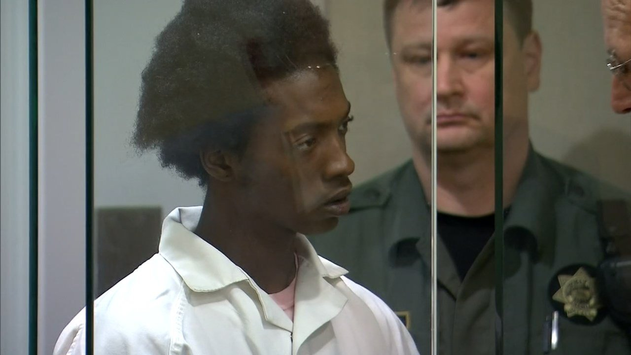 "Vesther ""JJ"" Brown in court Tuesday. (KPTV)"