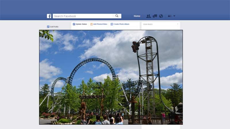 Similar roller coast that will be coming to Oaks Amusement Park next year (Image: Oaks Amusement Park/Facebook)