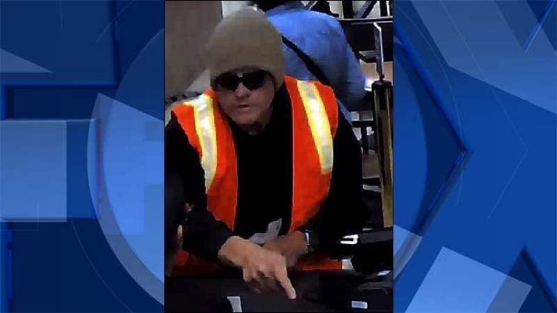 Salem bank robbery suspect (Image: FBI)