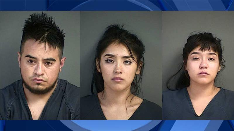 Uriel Bernardino-Cano, Joseline Hernandez-Aguilar, Miriam Hernandez-Aguilar (jail booking photos)