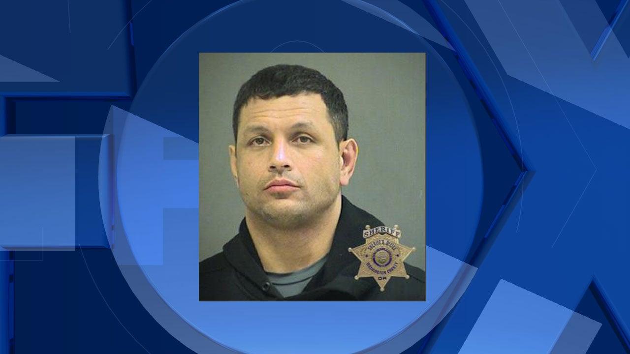 Brian Autele, jail booking photo