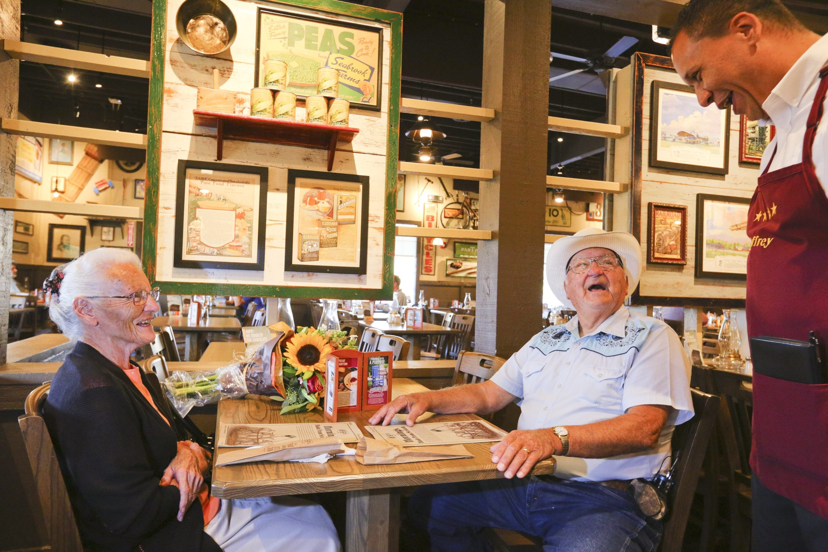 NJ was key to a senior couple's epic Cracker Barrel mission
