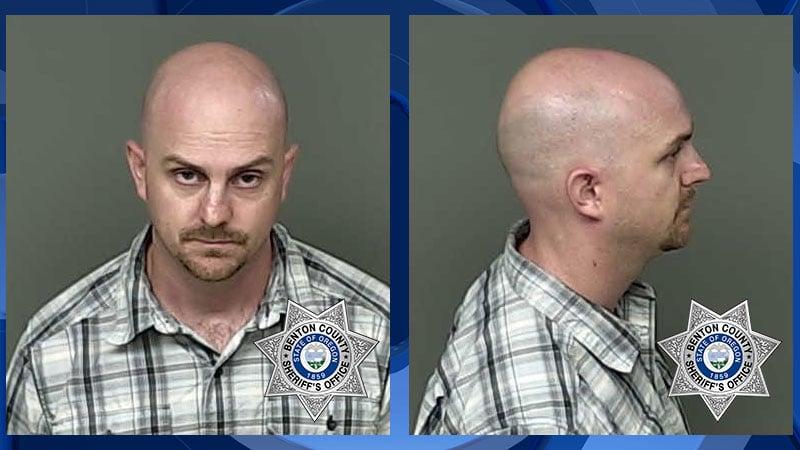 Corey Robert Koch booking photo (Benton Co. Jail)