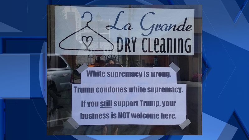 (courtesy Heidi Van Schoonhoven/La Grande Dry Cleaning)