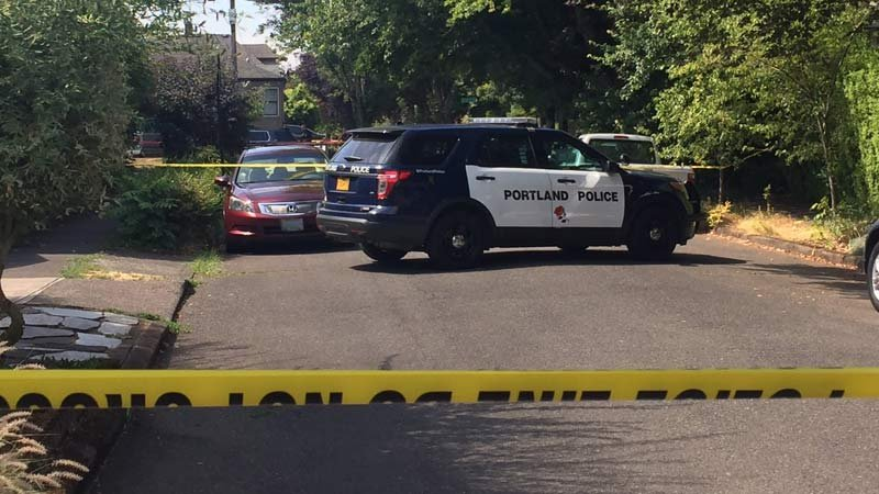 Bank robbery suspect hospitalized after officer-involved shooting in NE Portland
