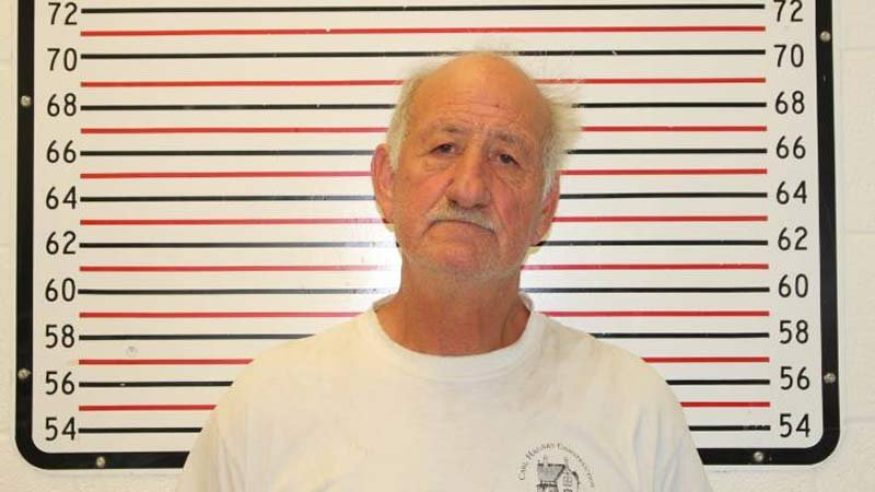 Carl Axel Hagnas, jail booking photo