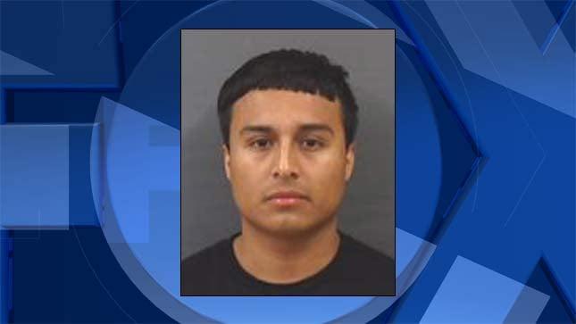 Jonathan Alcantara Romero, jail booking photo