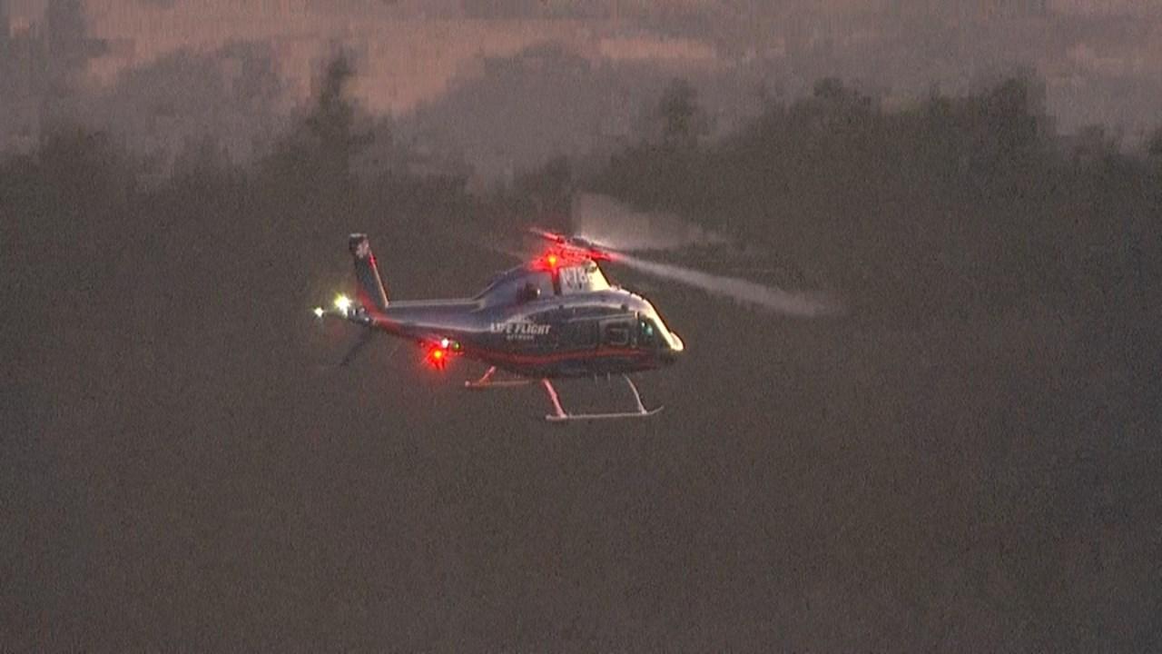 Life flight as seen from AIR 12