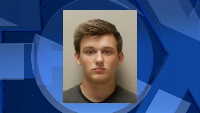 Kody Allen, jail booking photo