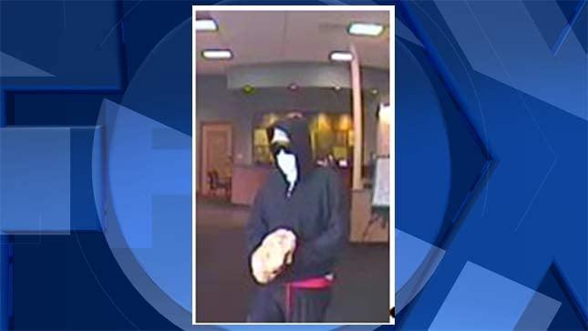 Umpqua Bank robbery suspect (Image released by Portland Police Bureau)