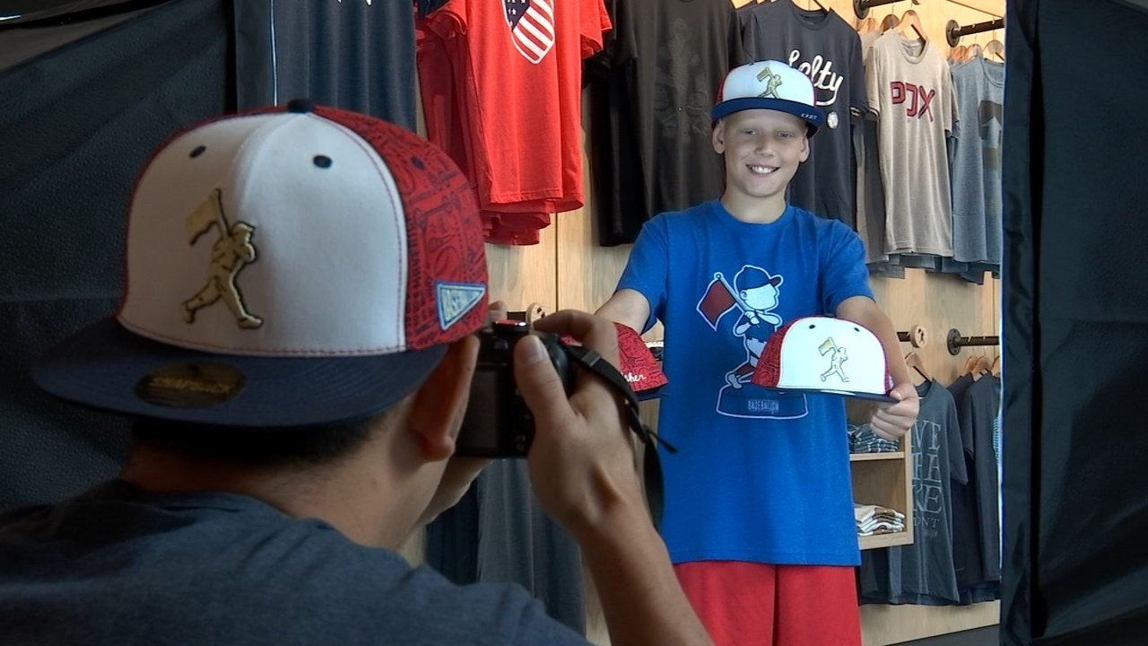 Asher Davies at Baseballism (KPTV)