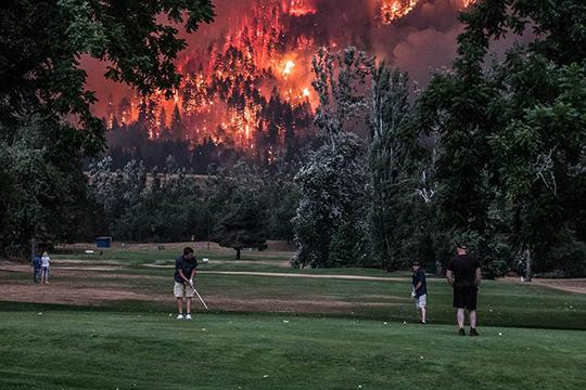 Photo: Beacon Rock Golf Course