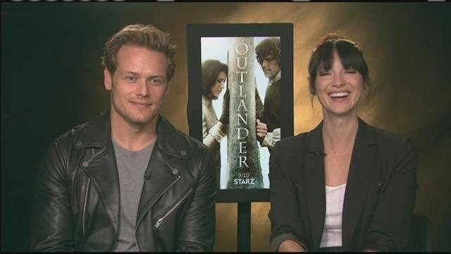 Sam Heughan and Caitriona Balfe relationship discussed in Outlander Season 3