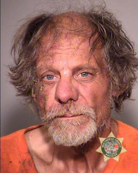 Marty C. Haines booking photo (Multnomah Co. Jail)