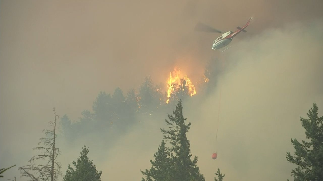 Eagle Creek Fire (KPTV/Air 12)