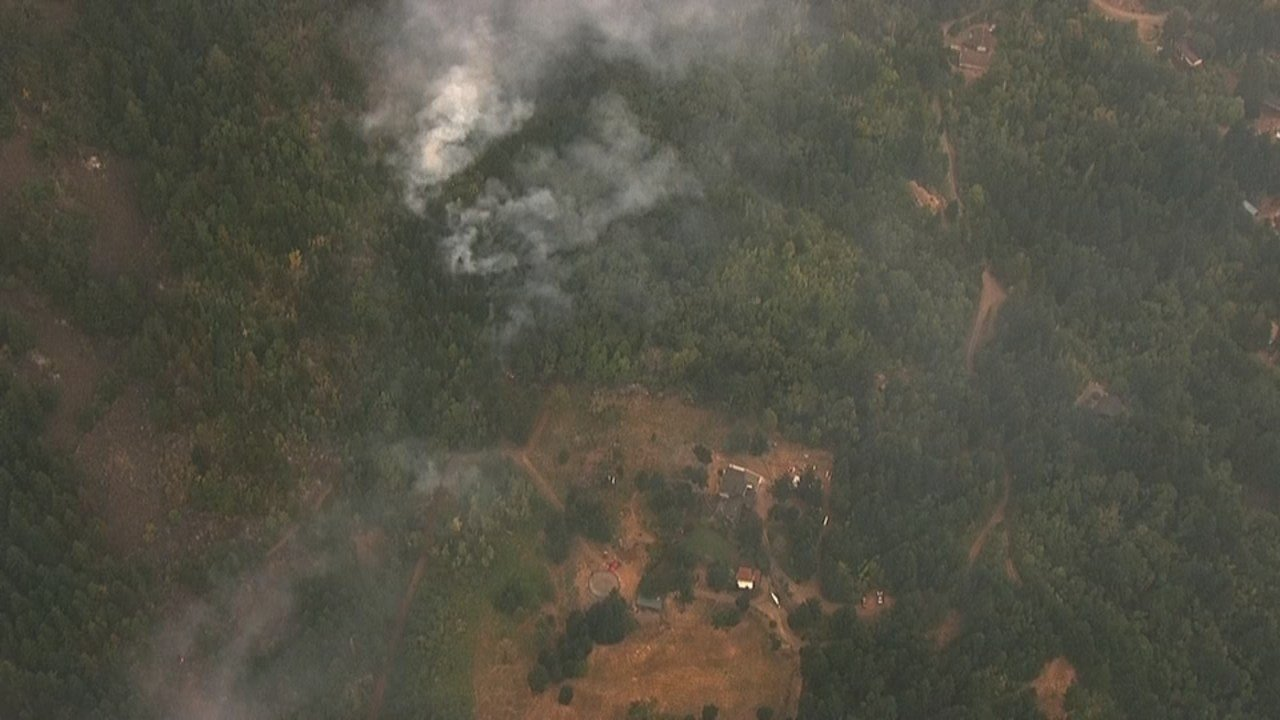 Archer Mountain Fire (KPTV/Air 12)