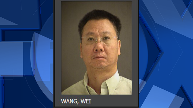 Wei Wang, jail booking photo (Washington County Sheriff's Office)