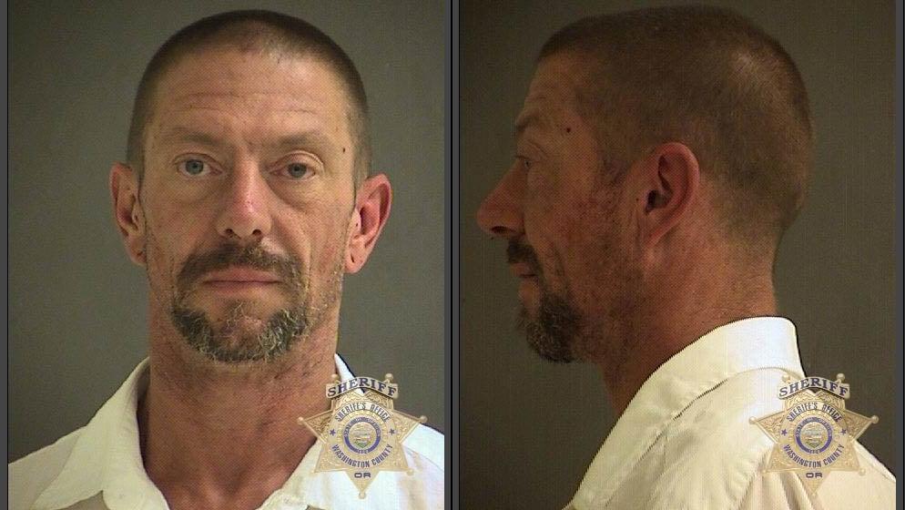 William Carmichael, jail booking photo