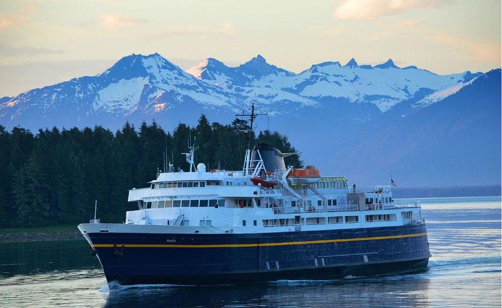 MV Taku (courtesy  Alaska Department of Transportation & Public Facilities)