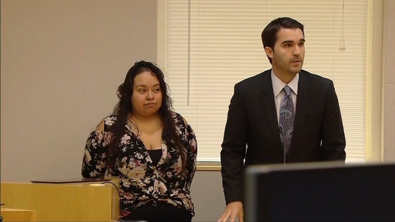 Ana Lara during prior court appearance. (KPTV)