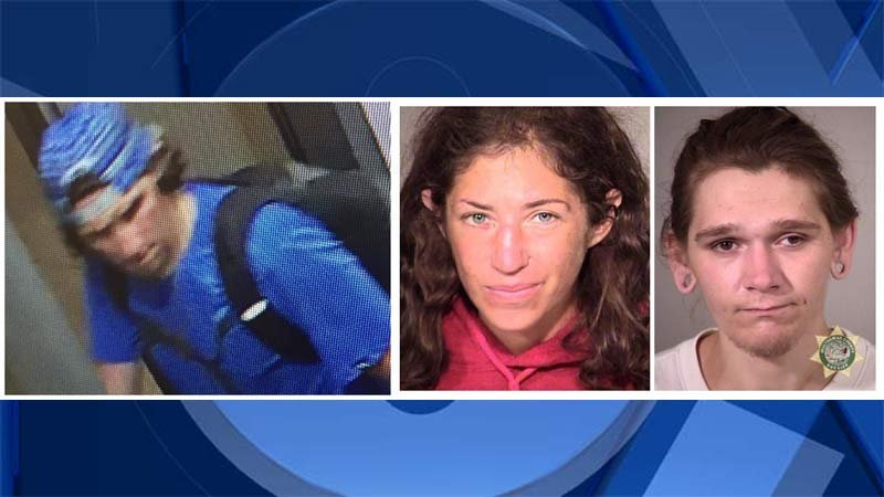 Wanted Portland burglary suspects (Portland Police Bureau/Crime Stoppers of Oregon)