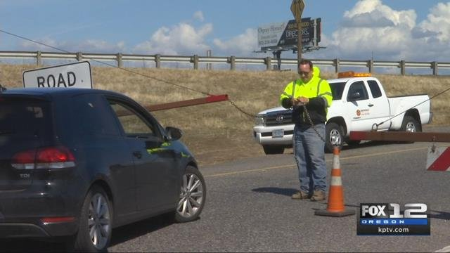 ODOT reopens eastbound lanes of I-84 after weeks-long closure