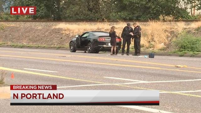 Pedestrian believed to be blind dies after serious North Portland car crash