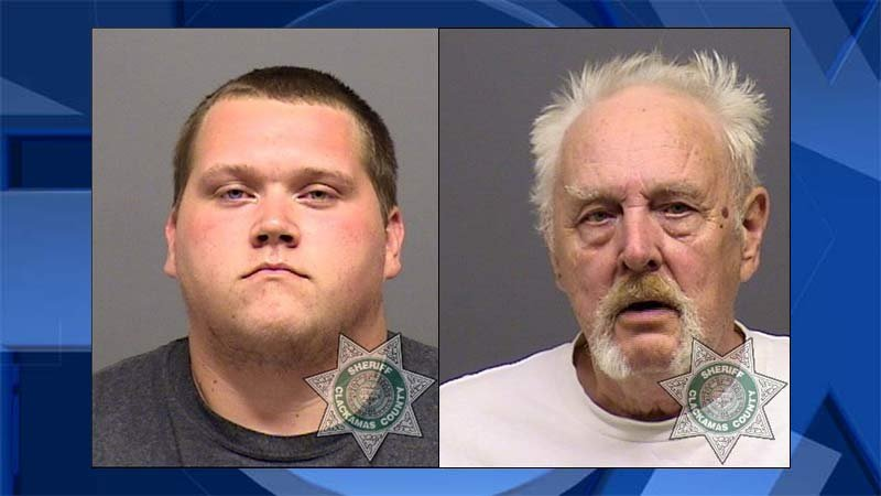 Troy Lynn Alan Kirk Jr., William Arthur Kirk Sr., jail booking photos