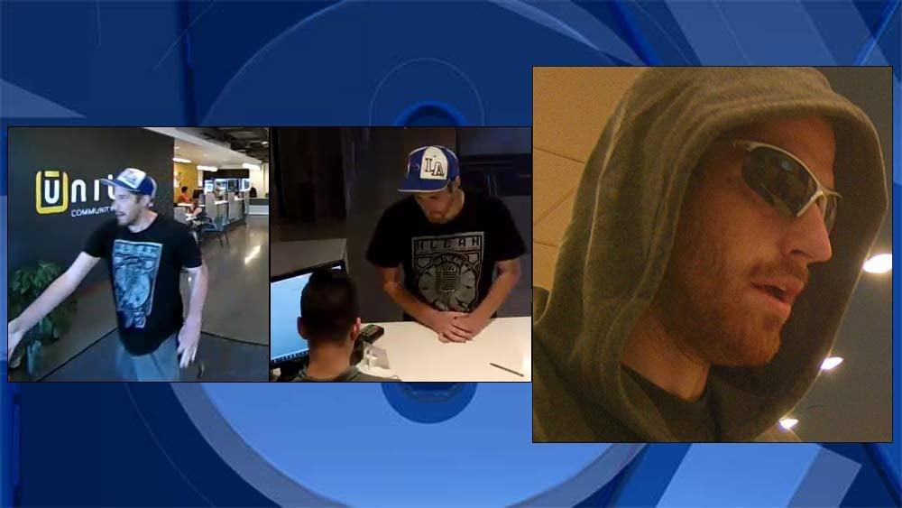 "Bank robbery suspect dubbed ""Lazy Leprechaun' by police. (Portland Police Bureau/KPTV)"