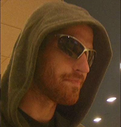 "Bank robbery suspect dubbed ""Lazy Leprechaun' by police. (Portland Police Bureau)"