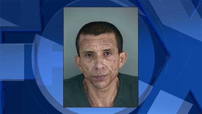 Jose Torres, jail booking photo
