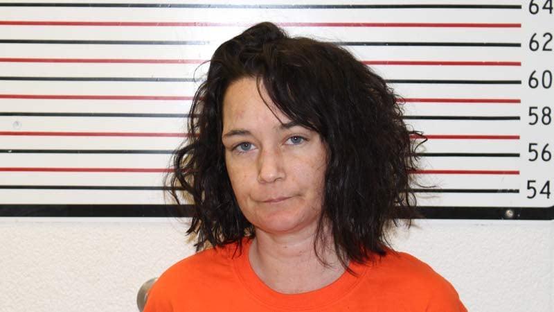 Corrissa Barnett, jail booking photo