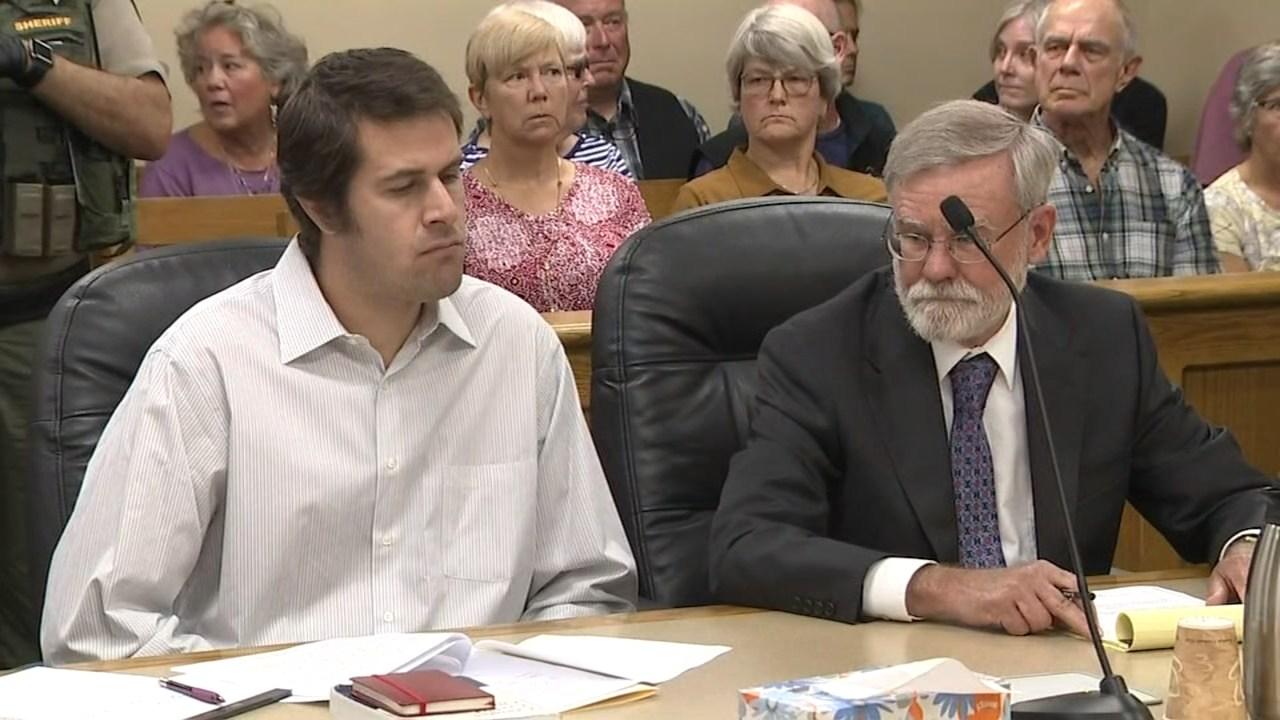 Erik Meiser in court Thursday. (KPTV)