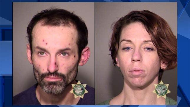 Dustin Baker, Lindsey Walker, jail booking photos